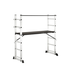 1.6 meter 6*2 step ladder flame Scaffolding profile agility ladder with CE