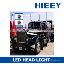 "7"" round LED high beam and low beam head light headlight head lamps with DOT/SAE complied"