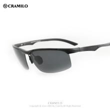 Cramilo 2018 Алюминиево-магниевые солнцезащитные очки UV400 Мужчины Поляризованные солнцезащитные очки Алюминиевые солнцезащитные очки