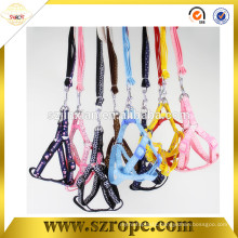Direct factory lovely applique dog harness, dog collars and leashes