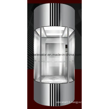 Yida Panoramic Elevator with Tempered Safety Glass Panel (JQ-A005)