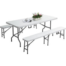 6FT Plastic Folding Bench Event Rental Outdoor