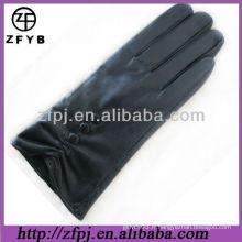 2013 gants d'hiver style mode en cuir agneau