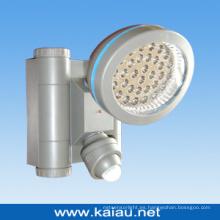 Batería Lámpara LED del sensor infrarrojo