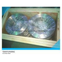 API 594 Válvula de retención de obleas de doble placa de cuerpo de acero inoxidable