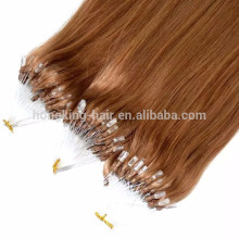 wholesale 100 keratin tip human hair extension with micro bead hair available