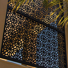 Laser Cut Window Coverings and Panels