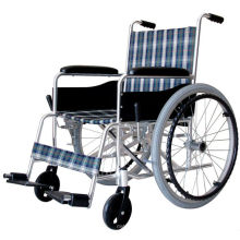 Fixed armrest&fixed footrest Aluminum wheelchair