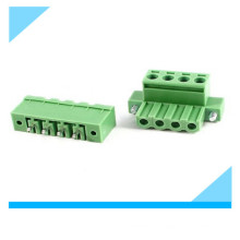 Connecteur de bloc de jonction à pas de vis de la carte PCB 5.08mm de Pin 4