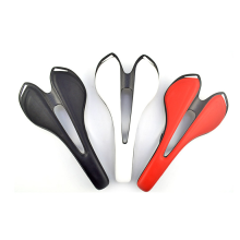 Customized for Carbon Fiber Bike Accessories Colorful Carbon fiber cyling saddle supply to France Wholesale