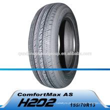 Pneu de carro radial de 13 polegadas de alto desempenho fabricado na China Preço novo fábrica de pneus de carro radial 195 / 70r13 na China