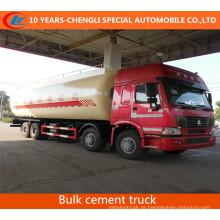 Caminhão de cimento a granel HOWO 8X4 40.6cbm