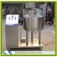 Máquina de pasteurización de leche pequeña de acero inoxidable