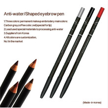 Anti-Water Eyebrow/Lip/Eyeliner Makeup Pencil for Permanent Makeup (Goochie)