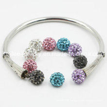 Hot Sale DIY Stainless Steel Bangle for Girls