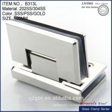 Великолепный 304SS-литой шарнир - 90-градусный стеклянный шарнир
