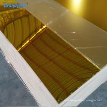 Customized anti-scratch plexiglass 1mm acrylic mirror sheet