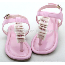 2016 newest child girl flat sandal outdoor toddler shoes