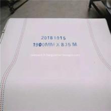 Courroie synthétique pour la production de carton ondulé