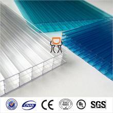 6 мм и 8 мм&10мм&12 мм и 14мм 16мм тройной стеной полый лист поликарбоната
