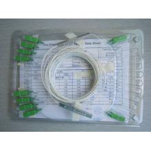 Мини-тип стальной трубы PLC оптоволоконный сплиттер карты, открытый оптический сплиттер цена хорошая