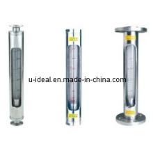 LZB-VA / FA30S Medidor de fluxo de flutuador de aço inoxidável Rotameter de vidro