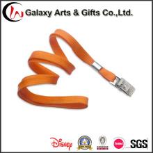 Comfort Orange Tubular Lanyard