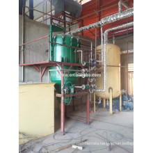 Continuous and automatic sunflower oil processing machine