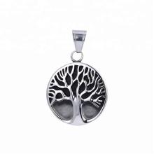 Colgante de la forma del árbol del color del arma del negro de la joyería del acero inoxidable de 33497 xuping fashion