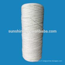 100% de fils de laine pour tapis 380tex / 1