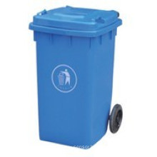 New Design Outdoor Plastic Waste Bin/ Trash Can (FS-80100B)