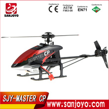 Walkera Master CP con DEVO 7 2.4G 6 canales rc helicóptero 6-Axis cepillos 3D helicóptero con giro