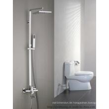 Quadratischer Spray-Duschkopf-Badezimmer-Bad-Hahn
