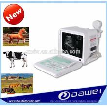 escáner de ultrasonido portátil para vacas y escáner de embarazo por ultrasonido DW360