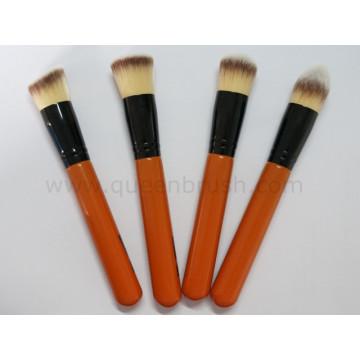 Échantillon gratuit 4PCS Synthétique Poudre Brush Set Cosmetic Tools