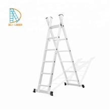 Escada reta de alumínio de 1,2,3 camadas, escada de extensão, escadas dobráveis,