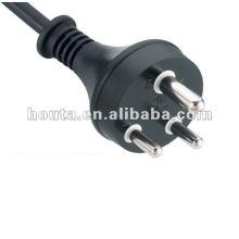 India Power Plug Cabo elétrico