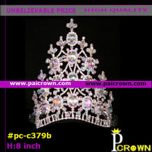 Pink princess queens pagent Christmas Tiara Crown