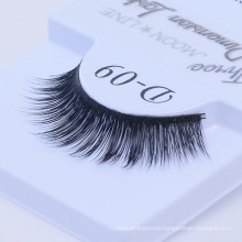 Synthetic fiber eyelashes customized order with private brand wholesale 3D luxury eyelash false synthetic