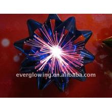 flor de fibra óptica led intermitente