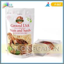 Steh auf den unteren Zwickel-Beutel für Nüsse und Samen