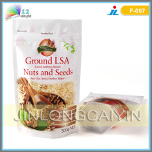 Stand up Nuts and Seeds Packaging Bag