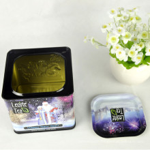 Custom Coffee Tin Can Packaging Acheter en gros Tissu de thé en métal vide