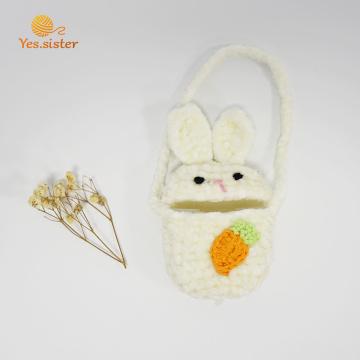 Caso de Airpods do fone de ouvido de Bluetooth do coelho da cenoura