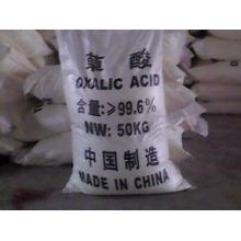 Acide oxalique blanc en poudre 99,6% pour l'industrie