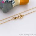 42617 (meia dúzia) -Xuping Fashion Necklace, Colar de ouro fino