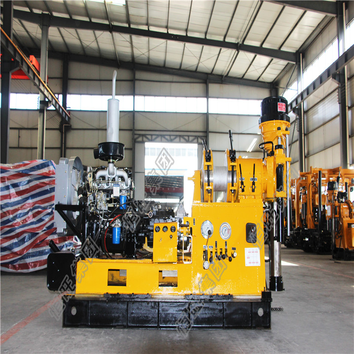 portable water well drilling rig machine