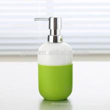 Keramik-Lotionspender mit Kunststoffpumpe und Silikonband