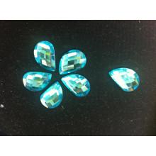 Comma Shape Stones Beads para decoración