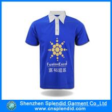 Billige Werbe Werbung Plain Polo Shirt mit hoher Qualität